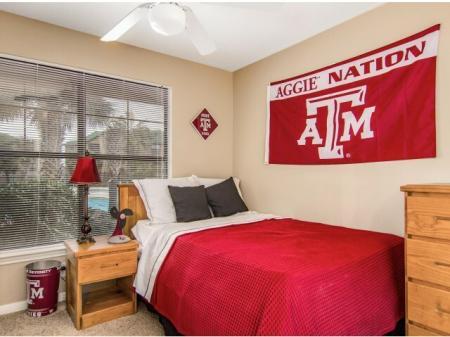 tamu bedroom furnished