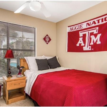 tamu bedroom furnished