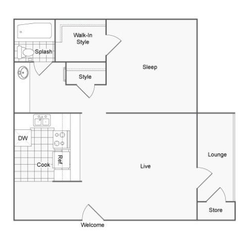 3 Bed / 2 Bath Apartment In San Antonio TX