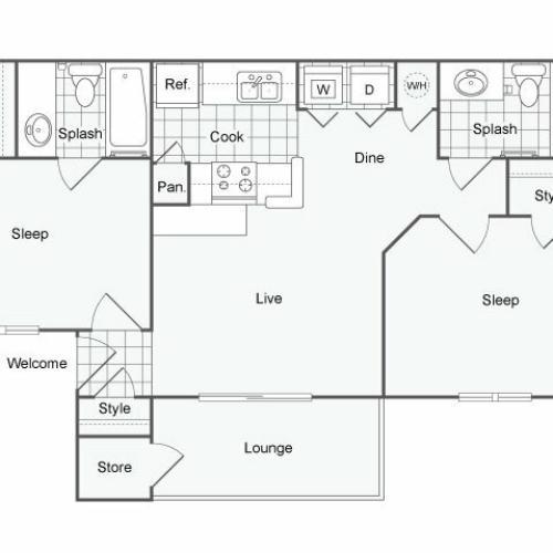 Floor Plan | The Parker