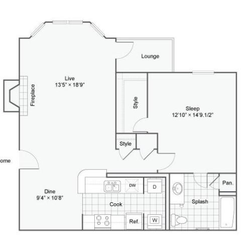 Floor Plan 1 | Haven
