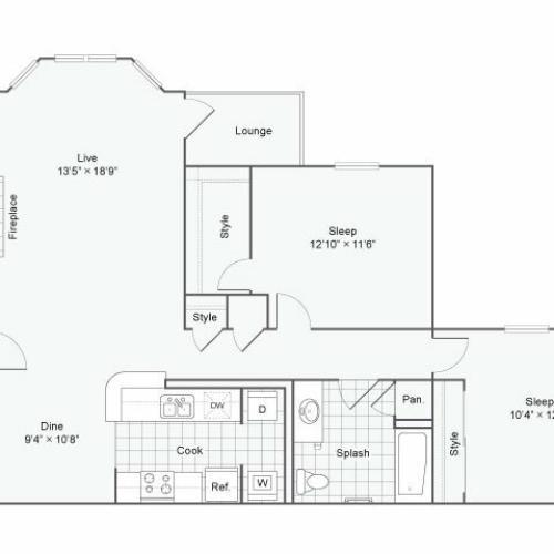 Floor Plan 2 | Haven