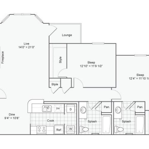 Floor Plan 3 | Haven