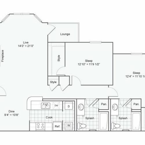 Floor Plan 3 | Haven