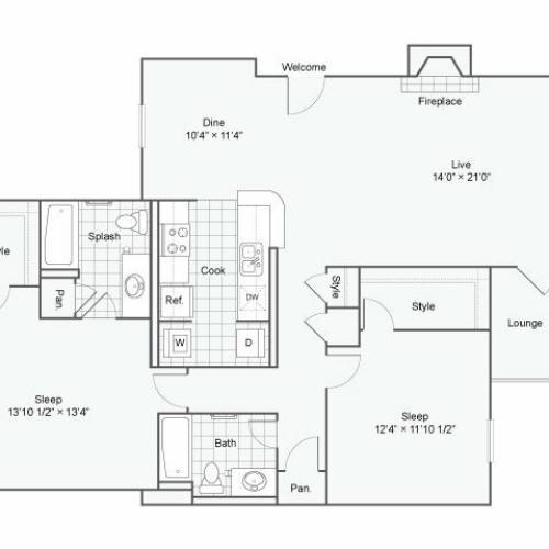 Floor Plan 4 | Haven