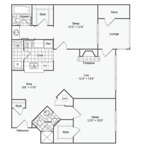 Luxury Apartments In Atlanta: 1 Bed / 1 Bath Apartment In Atlanta GA
