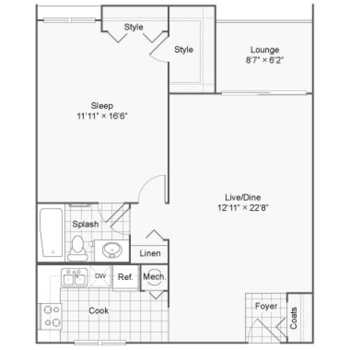 Floor Plan | 100 Inverness