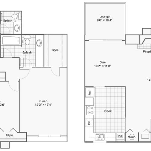 Floor Plan 7 | 100 Inverness