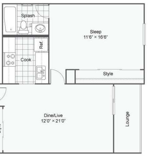 2 Bed / 2 Bath Apartment In Chesterfield MO
