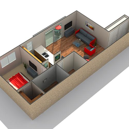 Floor Plan   Apartments For Rent Near Naperville IL   Fifteen98 Naperville Apartment Homes