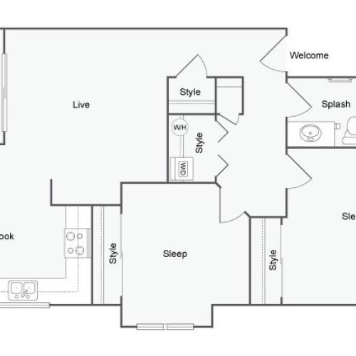 The Habitat @ Fort Collins Apartment Homes for Rent in Ft Collins CO 80526