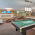 Resident Game Room   Apartments In Des Plaines   Renew Five Ninety Five