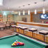 Community Coffee Bar in Clubhouse   2 Bedroom Apartments In Des Plaines IL   Renew Five Ninety Five