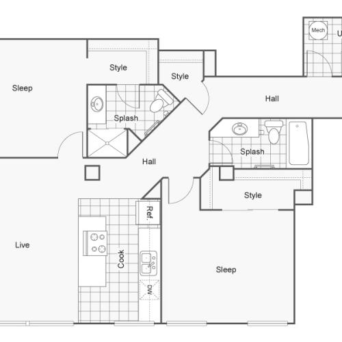 Spacious Floor Plans | Luxury Apartments Wichita KS | ReNew Wichita