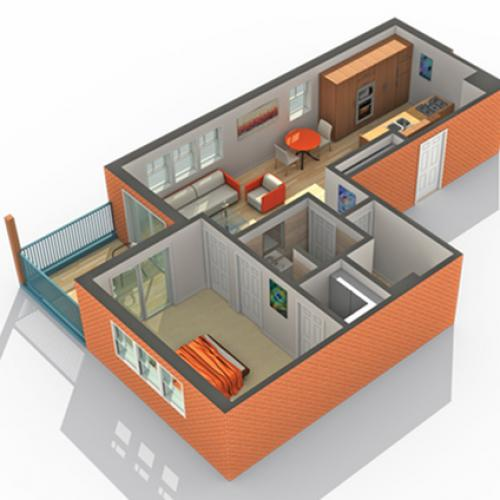 Floor Plan   ReNew on Main Apartment Homes for Rent in Algonquin IL 60102