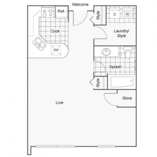 Floor Plan | Zen Chaska Apartment Homes for Rent in Chaska MN 55318