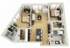 Floor Plan 24 | Minneapolis Apartments For Rent Near University Of Minnesota | Solhaus Apartments