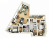 Floor Plan 18 | Student Apartments In Minneapolis | Solhaus Apartments