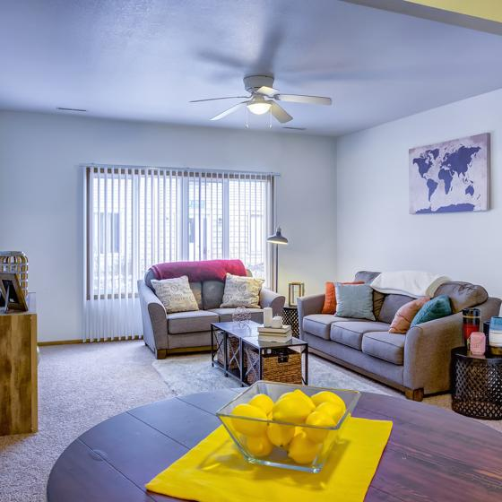The Social West Ames Steinbeck | Student Housing for Rent | Ames IA 50014 | Living Room