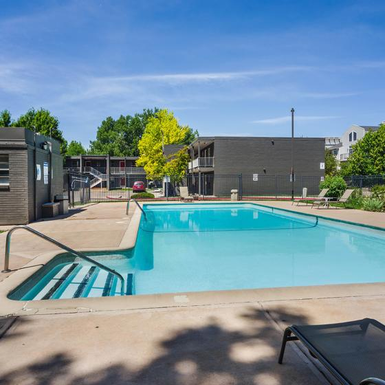 The Social West | Student Housing for Rent | Fort Collins CO 80521 | Pool
