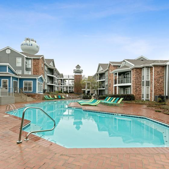 The Social Block and Townhomes | Student Housing for Rent | Starkville MS 39759 | Resort-Style Pool