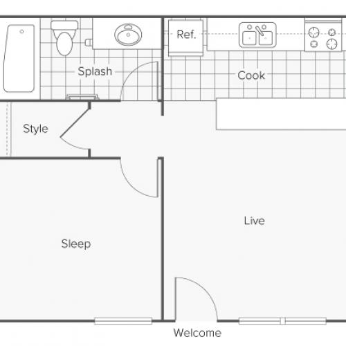 Floor Plan and Availability | Alturas Eleventh Apartment Homes for Rent in Odessa TX 79761