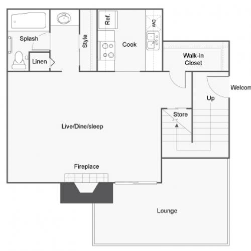 Floor Plans | ReNew Sinclair Apartment Homes for Rent in Midland TX 79703