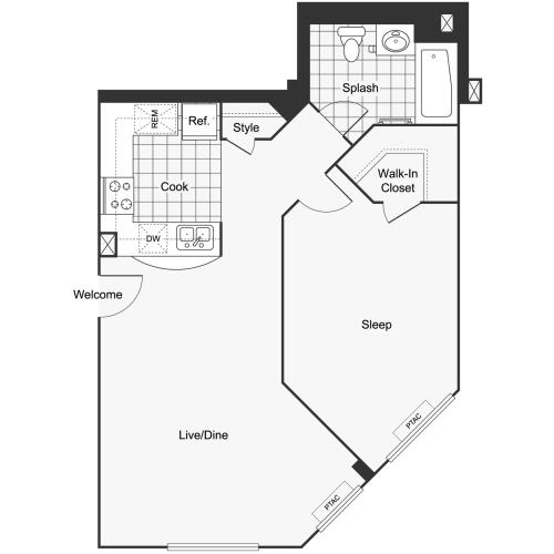 Floor Plan Layout | ReNew Lyndhurst Apartment Homes for Rent in Lyndhurst NJ 07071