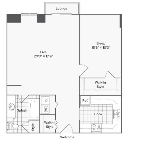 Suffolk | Luxury Apartments In Alexandria VA | Arrive 2801