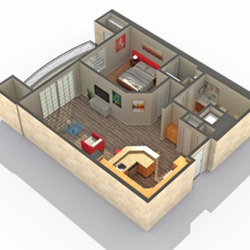 Floor Plan | Apartments Near Lombard IL | ReNew Downer\'s Grove