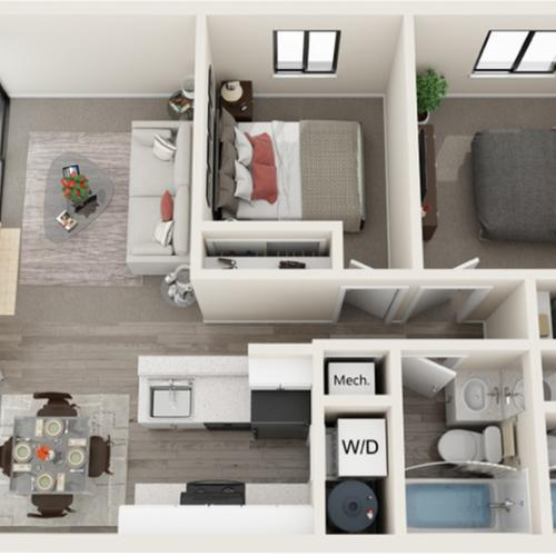 Floor Plan | ReNew Foothills Apartment Homes for Rent Fort Collins CO 80521