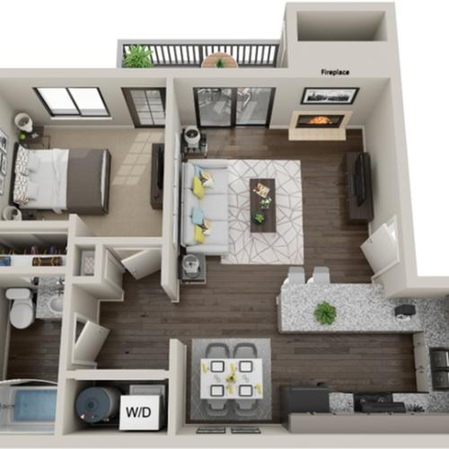 Floor Plan Image | ReNew Diamond Valley Apartment Homes for Rent in Hemet CA 92543