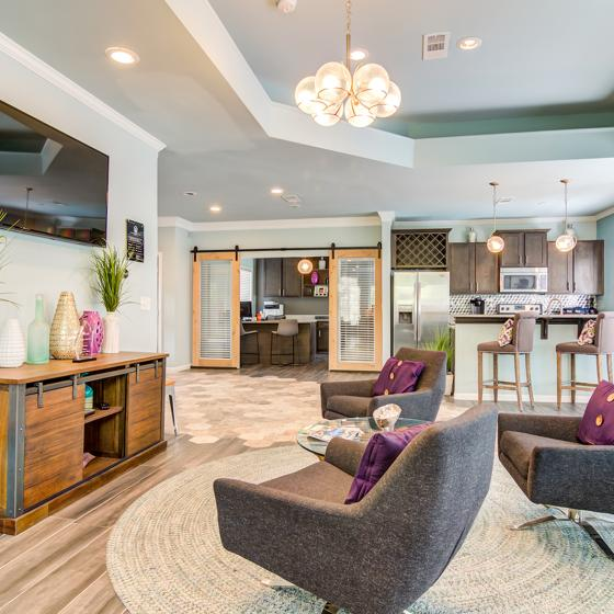 Clubhouse sitting area