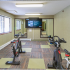 Fitness center cycle room