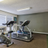 Fitness center with cardio machines