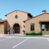Clubhouse entrance rendering