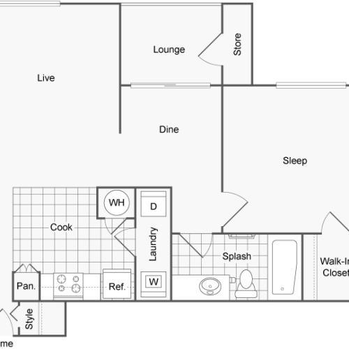 Floor Plan Image | ReNew Jordan Creek