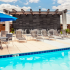 Outdoor Sun Lounge by Pool