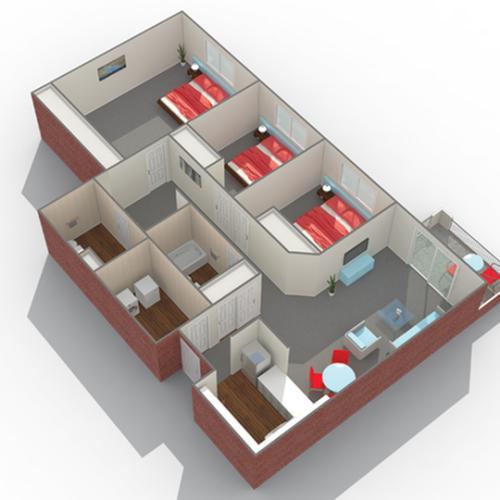 Floor Plan Image | Arrive Eden Prairie