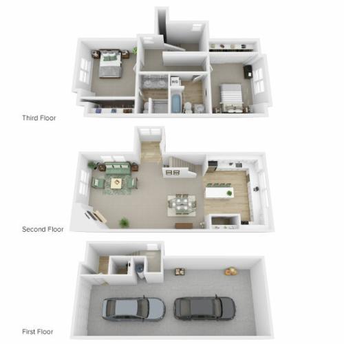 Floor Plan Images | Arrive North Bend