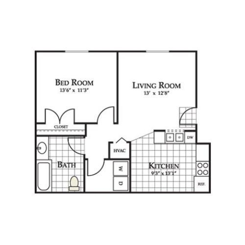 Copper Mill Apartments: 2 Bed / 2 Bath Apartment In High Point NC