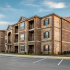Outside view of our Adeline at White Oak apartments for rent in Garner NC