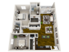 Marina 3-D Floor Plan