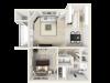1 Bedroom - SecondThird Floor