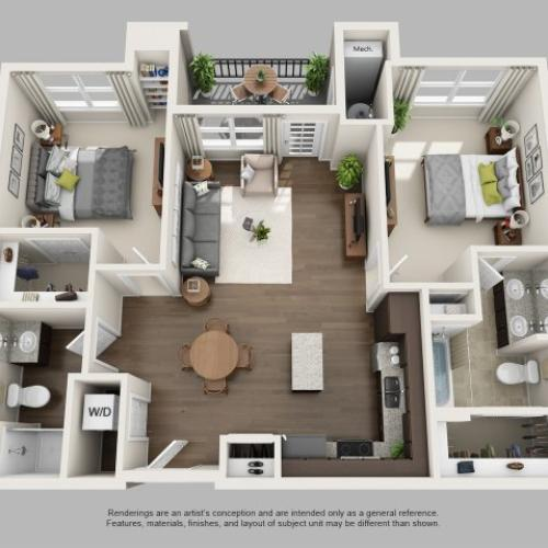 Floor Plan | Infinity at Centerville Crossing