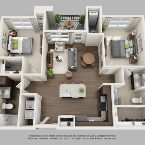 Floor Plan 2 | Infinity at Centerville Crossing