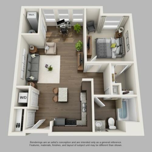 Floor Plan 4 | Infinity at Centerville Crossing