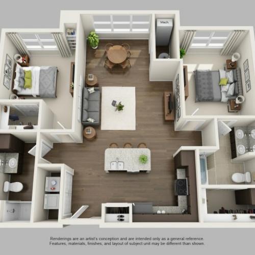 Floor Plan 8 | Infinity at Centerville Crossing