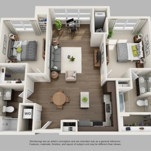 Floor Plan 2 | Infinity at Centerville Crossing3