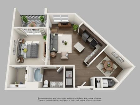Floor Plan 6 | Infinity at Centerville Crossing